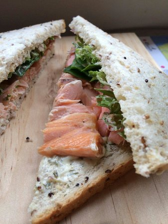 41 South Salmon and Ginseng Farm and Cafe: ��