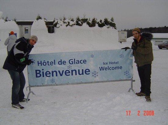 Hotel de Glace: Entrada