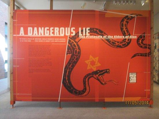 """United States Holocaust Memorial Museum: """"Le protocole de Sion: un dangereux mensonge"""""""