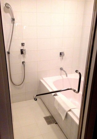 Shibuya Granbell Hotel: 洗い場付きバスルーム