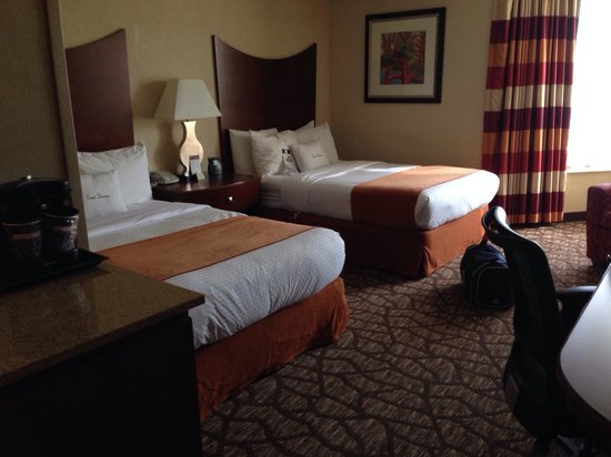 DoubleTree by Hilton Johnson City: Double beds