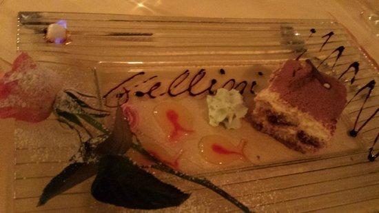 Fellini Ristorante: Bamberg Fellini Tiramisu is excellent