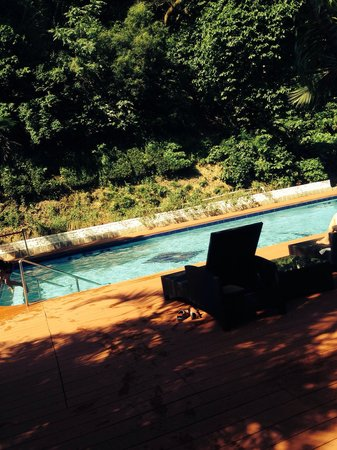 Pousada de Coloane Beach Hotel & Restaurant : Cozy swimming pool