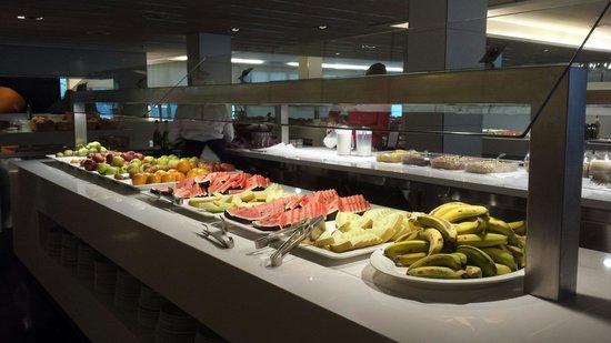 Aqua Hotel Aquamarina & Spa: Lovely fresh food