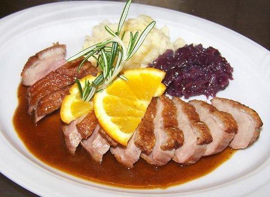 Restaurant Ratsschänke: Barbarie-Entenbrust a l´orange