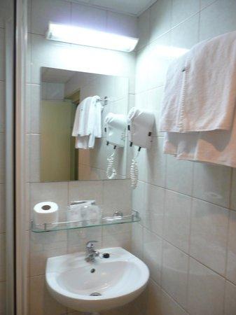 Smart Selection Hotel Epidaurus All Inclusive: Lavabo et sèche cheveux