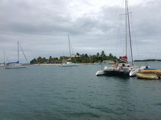 Protestant Cay: there is a way to get to the otherside!