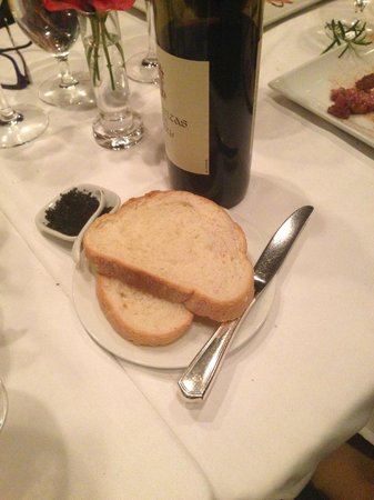 Windjammer: Two slices of plain white bread