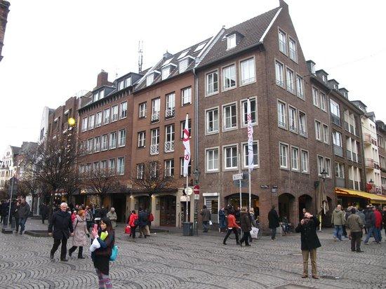 Altstadt: На одной из улочек