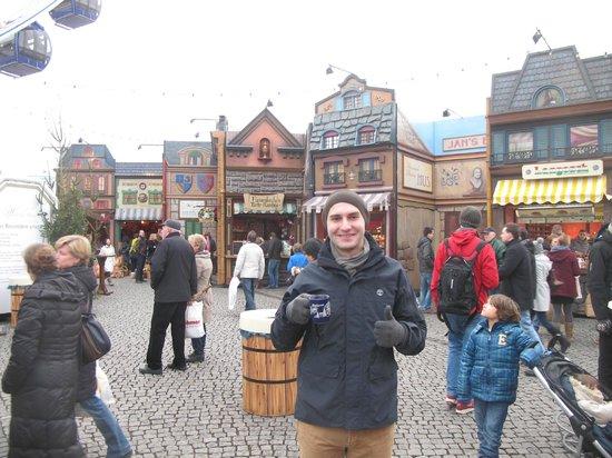 Altstadt: Рождественская ярмарка