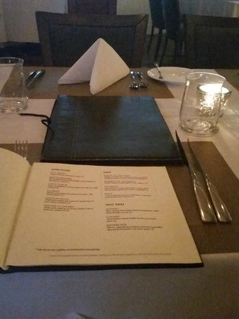 Boathouse : Table Setting