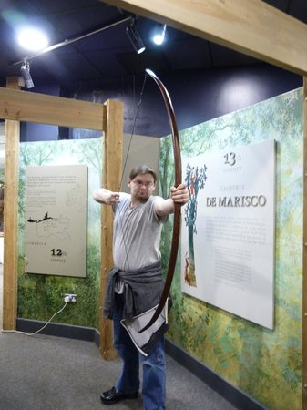 Adare Heritage Centre: try using a long bow