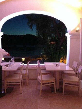 Restaurante Randemar: Del av terassen