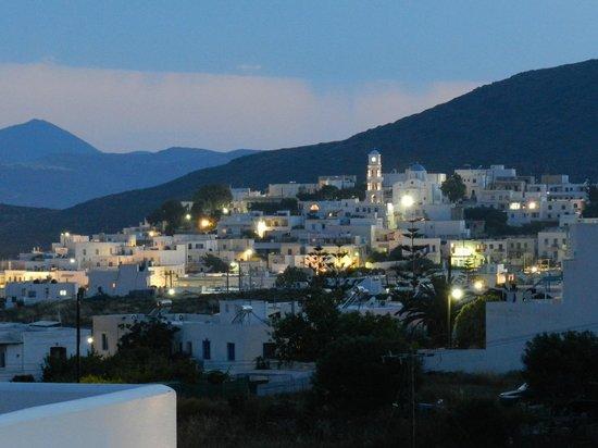 Santa Maria Luxury Suites: View of Adamas from Room