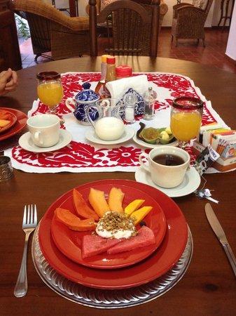 Estancia de Valencia: Desayunos diferentes todos los dias!!!