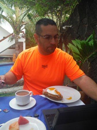 Hotel Albemarle: Breakfast