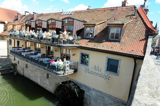 Alte Mainmühle: Charming Alte Mainmuhle with great outdoor seating