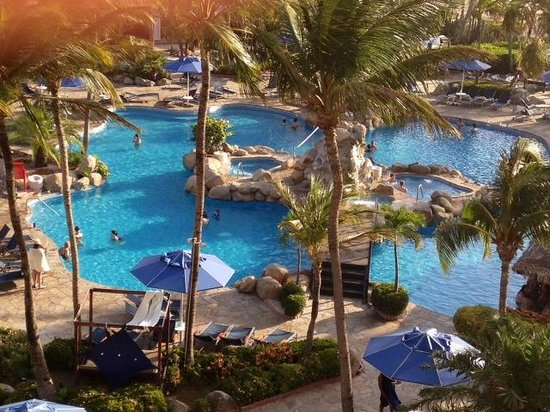 Occidental Grand Aruba All Inclusive Resort: Veiw from our room
