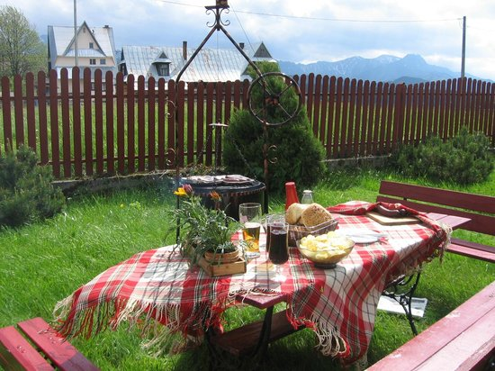 Villa Karpatia: Lunch