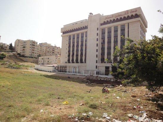 Jerusalem International : Une façade de l'hôtel