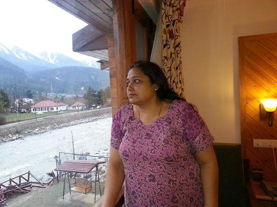 Hotel Heevan Pahalgam : view from room