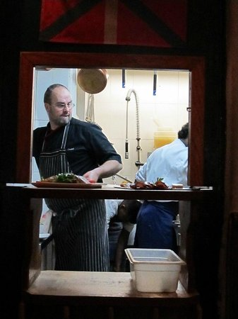 Le Volant: Le chef in his domain