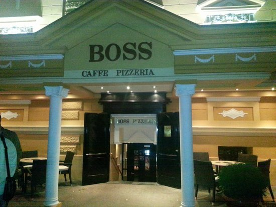 Boss: Outside of restaurant