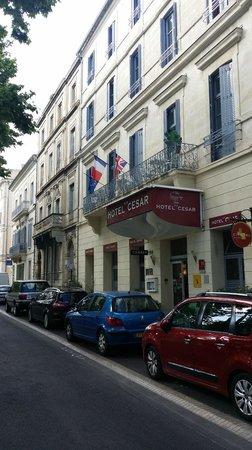 Hôtel César : Außenansicht
