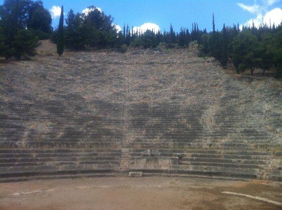 Peloponnese, Hellas: Argos amphitheater