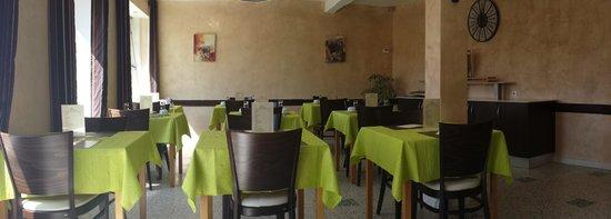 Hotel de la Plage: Salle de petit déjeuner