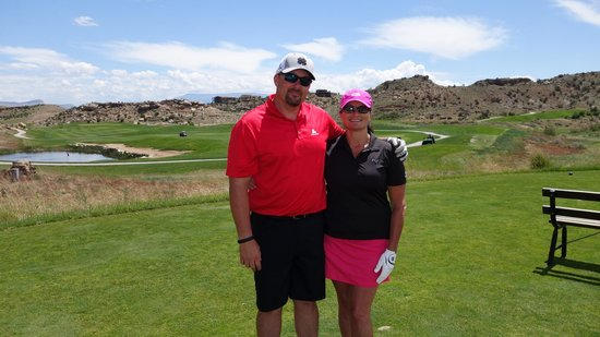 Grand Junction, CO: my husband and I