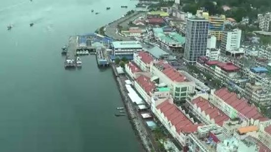 Four Points by Sheraton Sandakan: View from 22nd floor