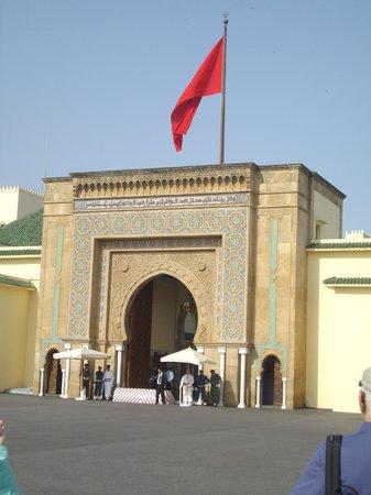 Royal Palace of Rabat : Entrance
