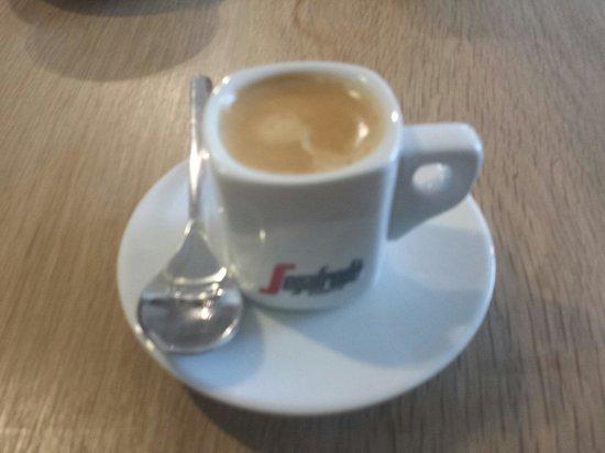 Janey Mac: Espresso macchiatto. Smooth and bold :-)