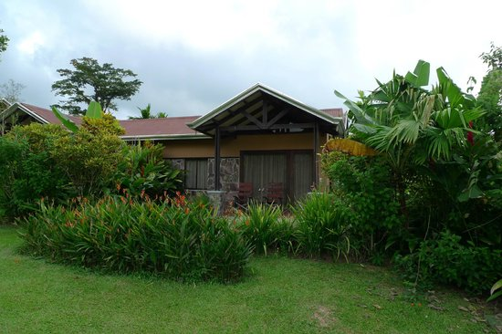 Arenal Springs Resort and Spa: room 506 viewed from the garden