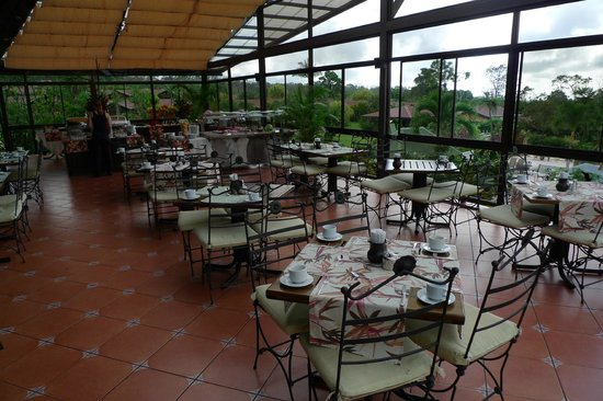 Arenal Springs Resort and Spa: breakfast restaurant