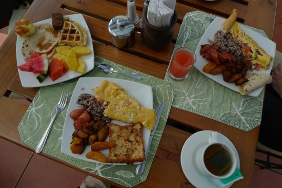 Arenal Springs Resort and Spa: breakfast
