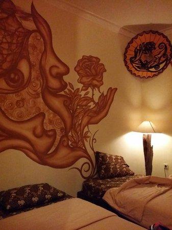 Hotel 1001 Malam : Drawing at room