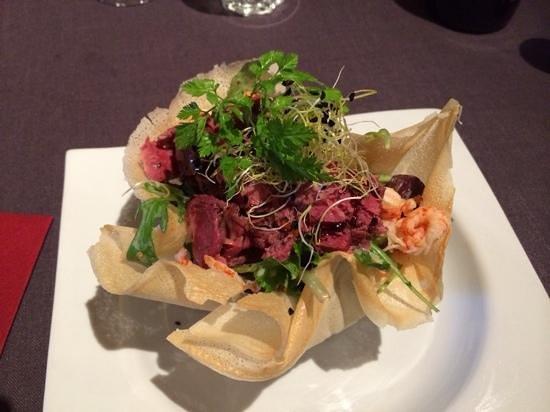 Le Pot de Lapin : salade de gésiers