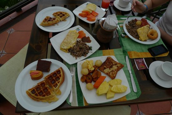 Arenal Springs Resort and Spa: breakfast