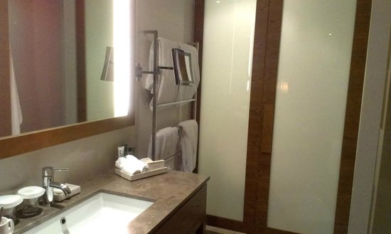 Hilton Melbourne South Wharf : Spacious bathroom