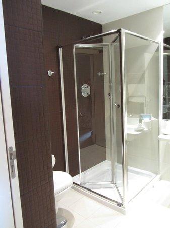 The Ross: bathroom shower