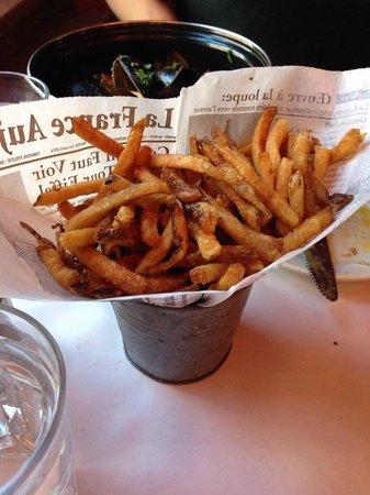 Brasserie Le Bouchon: Pomme frites