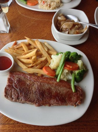 New York Steak 10 Oz Picture Of Outback Steakhouse