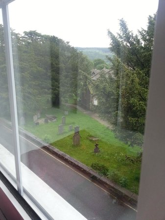 The Yewdale Inn: View from window