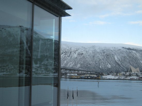 Radisson Blu Hotel, Tromso: Ausblick vom Zimmer