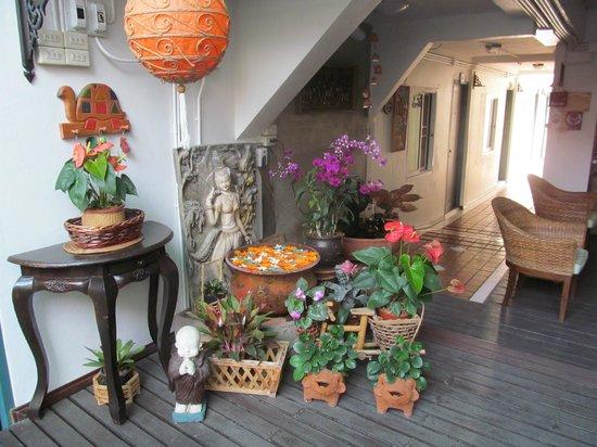 Top Garden Boutique Guesthouse: Decoração encantadora