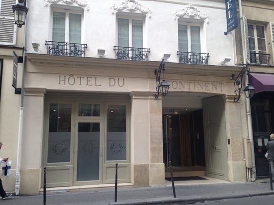 Hotel du Continent: street view