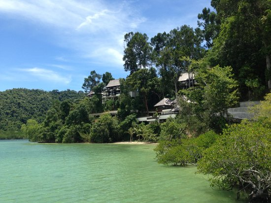 Gaya Island Resort : The jungle villas