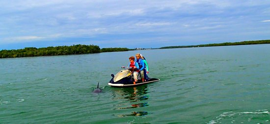 Capt. Ron's Awesome Everglades Adventures: Little know bargain - 3 on 1 jet ski if you weight less than 400 lbs